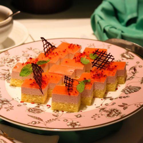 一休掲載|武藏(浅草ビューホテル)のビュッフェ|イチゴのムース