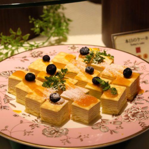 一休掲載|武藏(浅草ビューホテル)のビュッフェ|ミルクレープ