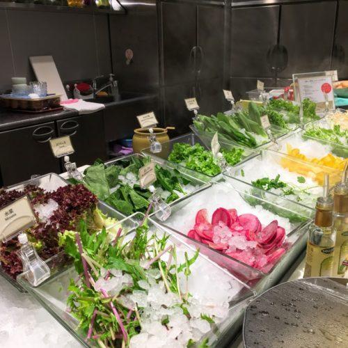 一休掲載|武藏(浅草ビューホテル)のビュッフェ|サラダ