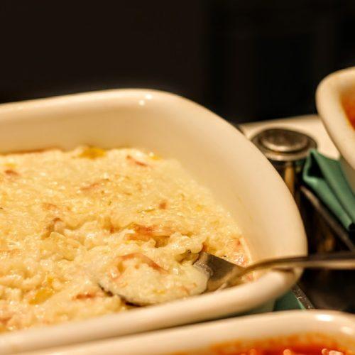 一休掲載|武藏(浅草ビューホテル)のビュッフェ|チーズリゾット