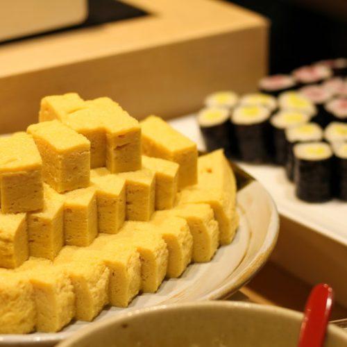 一休掲載|武藏(浅草ビューホテル)のビュッフェ|卵焼き