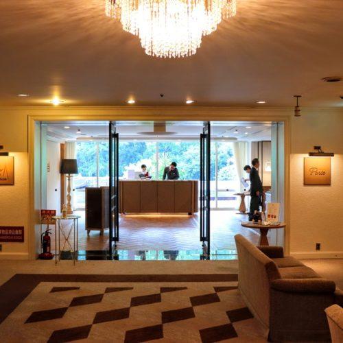 ポルト(東京プリンスホテル)のビュッフェのエントランス