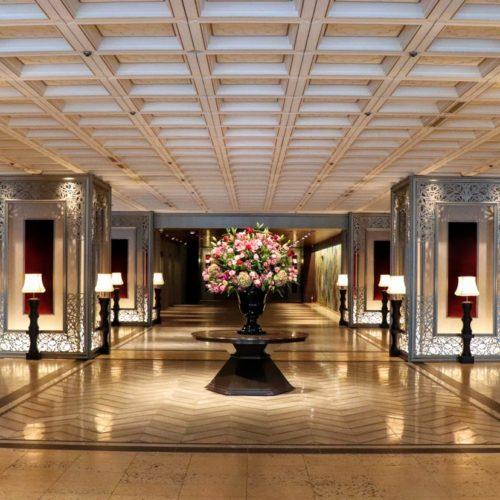 ポルト(東京プリンスホテル)のビュッフェのロビー