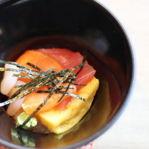 ポルト(東京プリンスホテル)のビュッフェのちらし寿司