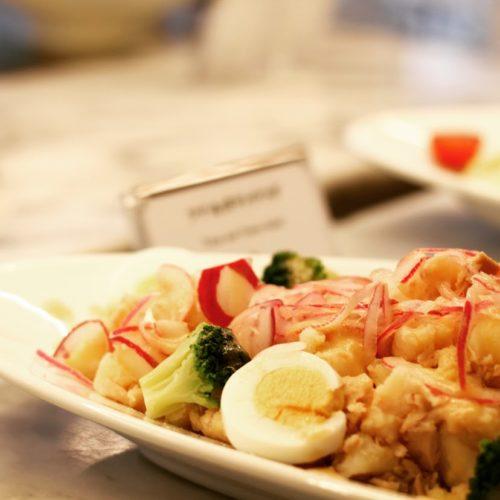ポルト(東京プリンスホテル)のビュッフェのツナ&ポテトサラダ