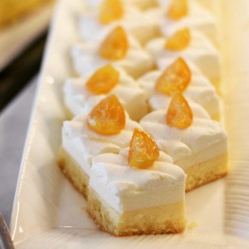 ポルト(東京プリンスホテル)のビュッフェのダブルチーズケーキ