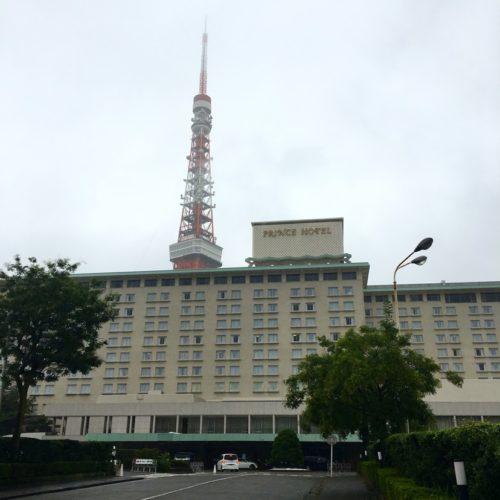 ポルト(東京プリンスホテル)のビュッフェの外観