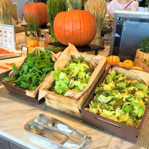 シースケープ(ヒルトン東京お台場)のビュッフェのサラダ