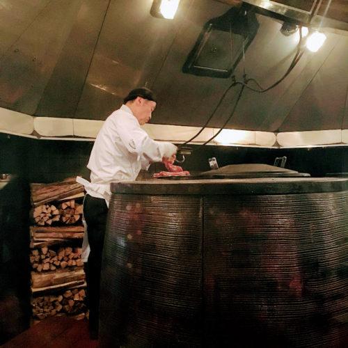 トレーダーヴィックス(ホテルニューオータニ)のビュッフェの魔法の窯