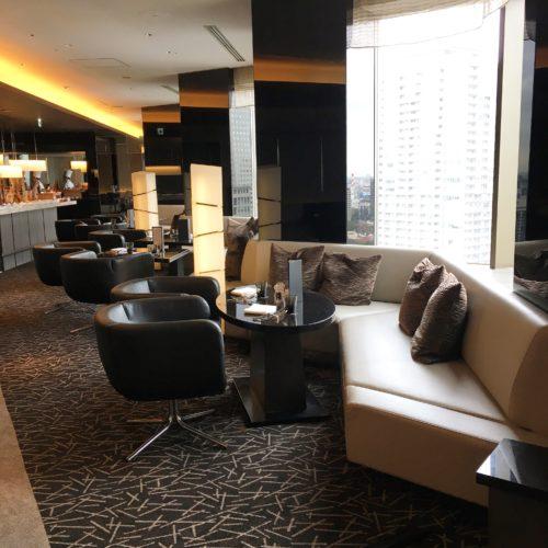 ANAインターコンチネンタルホテル東京のビュッフェの席4
