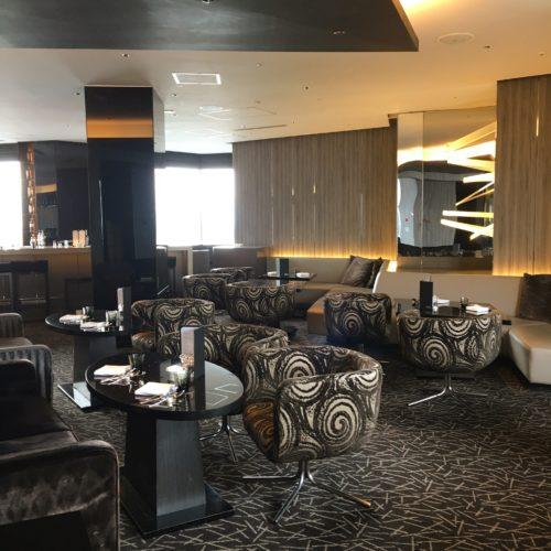 ANAインターコンチネンタルホテル東京のビュッフェの席3