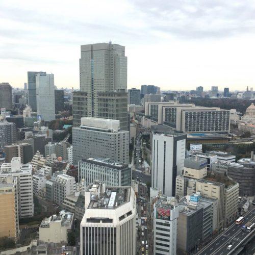 ANAインターコンチネンタルホテル東京のビュッフェの席5