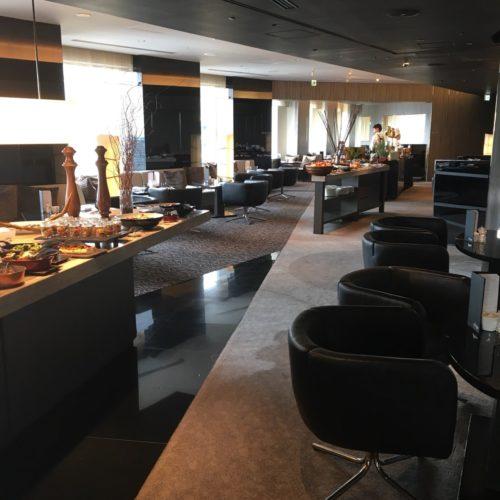 ANAインターコンチネンタルホテル東京のビュッフェの席1
