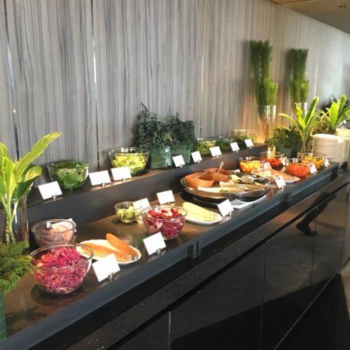 ANAインターコンチネンタルホテル東京のビュッフェのサラダコーナー