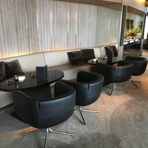 ANAインターコンチネンタルホテル東京のビュッフェの席2