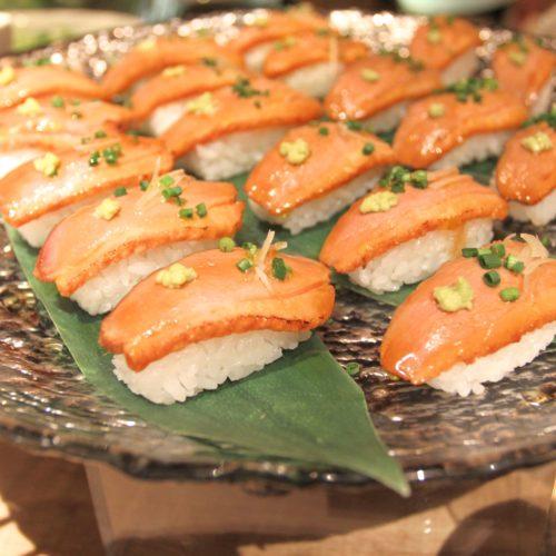 ハイアットリージェンシー『カフェ』のビュッフェの寿司