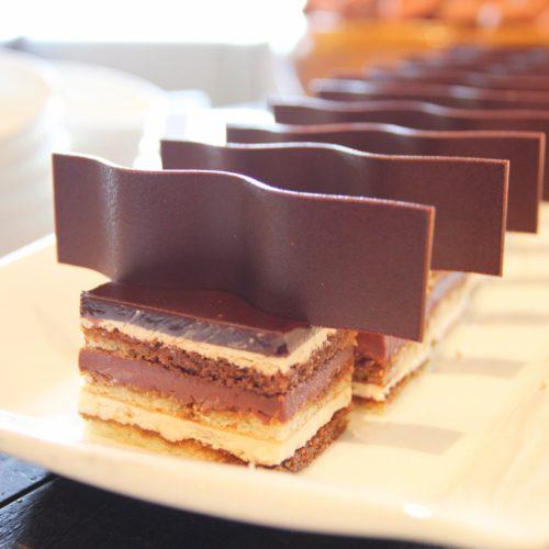 ANAインターコンチネンタルホテル東京のビュッフェのチョコレートケーキ