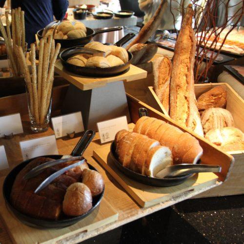 ANAインターコンチネンタルホテル東京のビュッフェのパン各種
