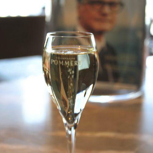 フォーシーズンズのビュッフェのスパークリングワイン