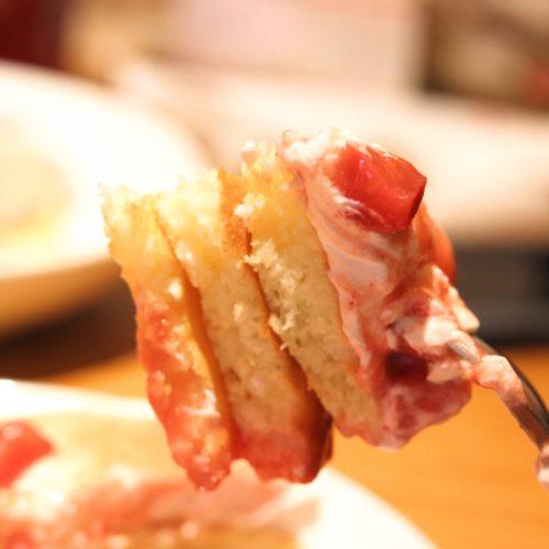 食べ放題のカイラのパンケーキ