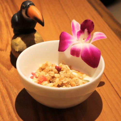 カイラの食べ放題のメイプルシロップ
