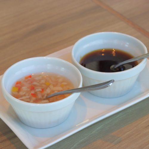 銀座のシュラスコ食べ放題のソース