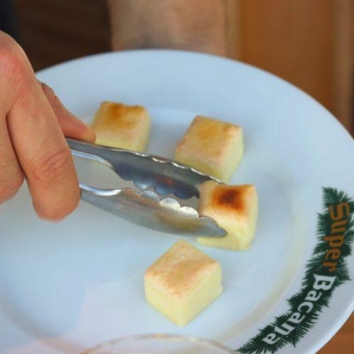 スーペルバッカーナ銀座のシュラスコのチーズ