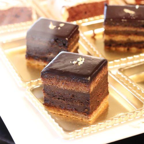 ホテルニューオータニのビュッフェのガトーショコラ