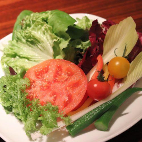 バルバッコアのサラダ