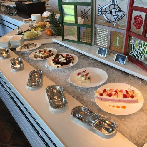 ラヴェラ横浜のビュッフェ|デザートコーナー