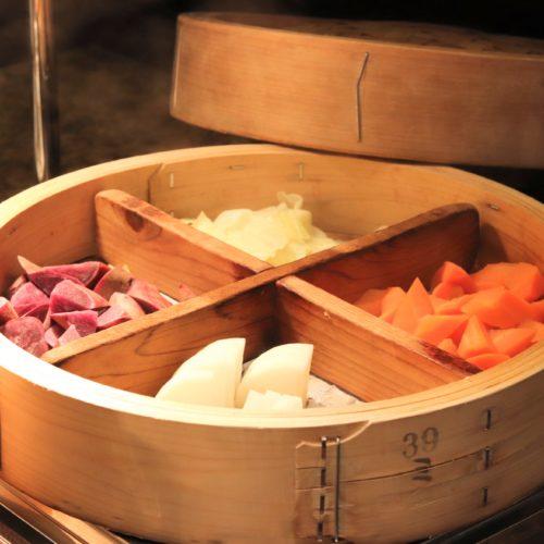 SATSUKIの蒸し野菜