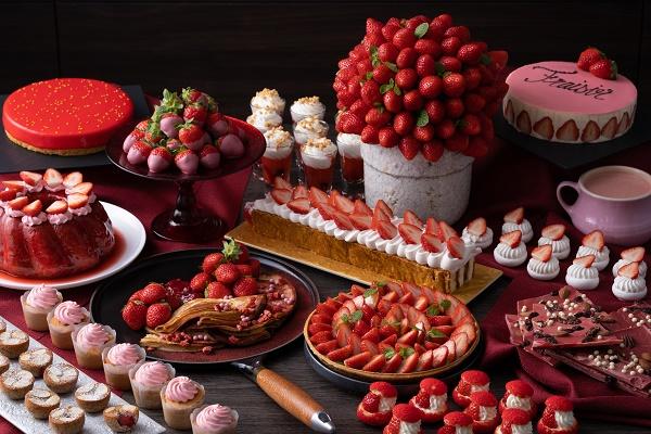 CONRAD OSAKA strawberry buffet