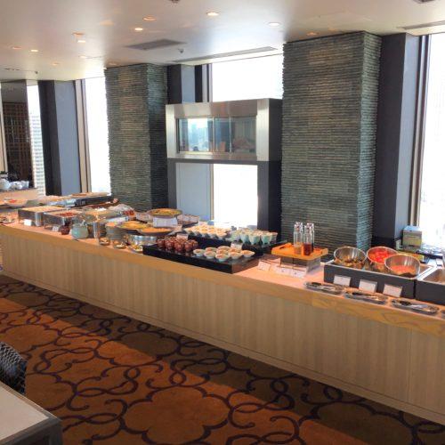 新宿プリンスホテルの風雅 前菜コーナー