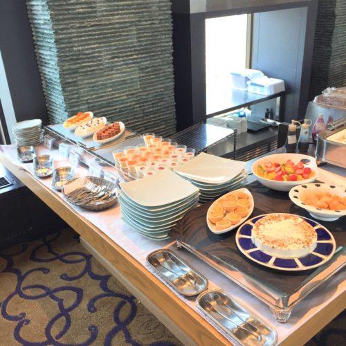 新宿プリンスホテルの風雅 デザートコーナー