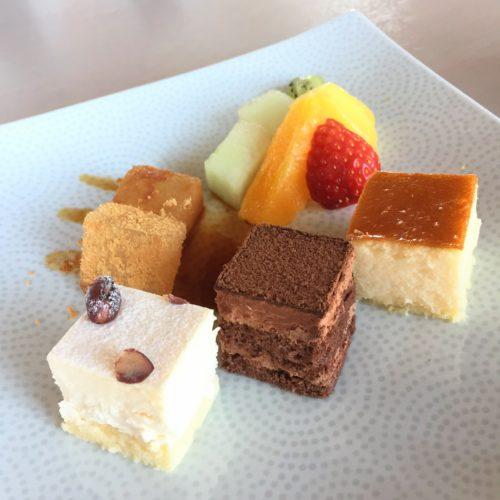 新宿プリンスホテルの風雅 デザート