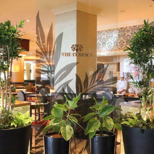 ウェスティンホテル東京『ザ・テラス』の入口