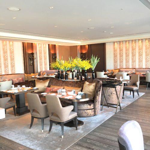 フォーシーズンズホテル丸の内東京の朝食の席6