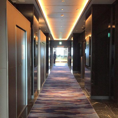 39階エレベーターホール