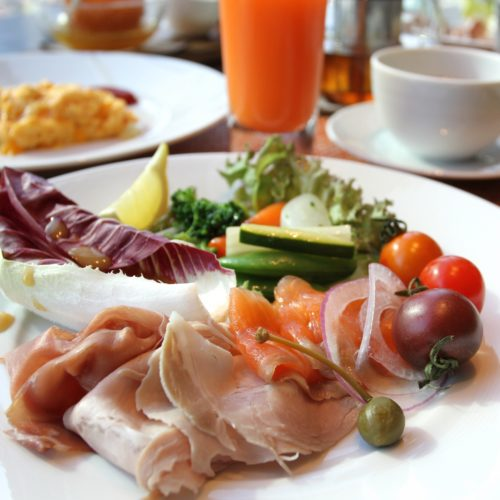 フォーシーズンズホテル丸の内東京の朝食の前菜