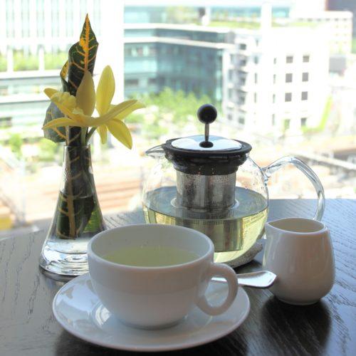 フォーシーズンズホテル丸の内東京の朝食のハーブティー