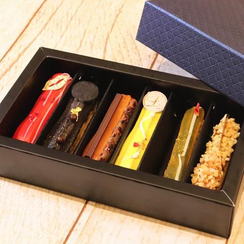 エクレアートショコラの箱をオープン