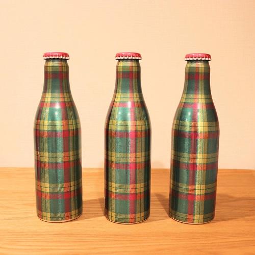 伊勢丹タータンシードルのボトル3本