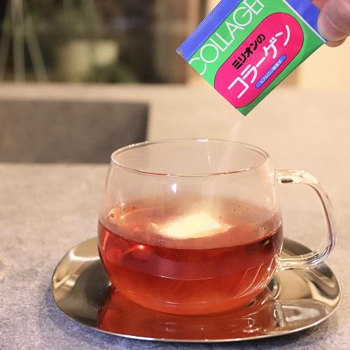ミリオンのコラーゲンと紅茶1