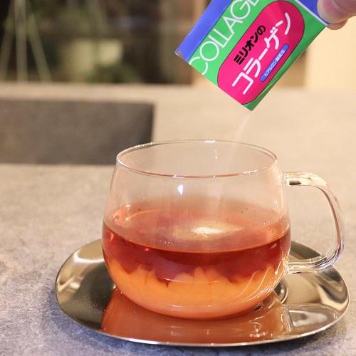 ミリオンのコラーゲンと紅茶2