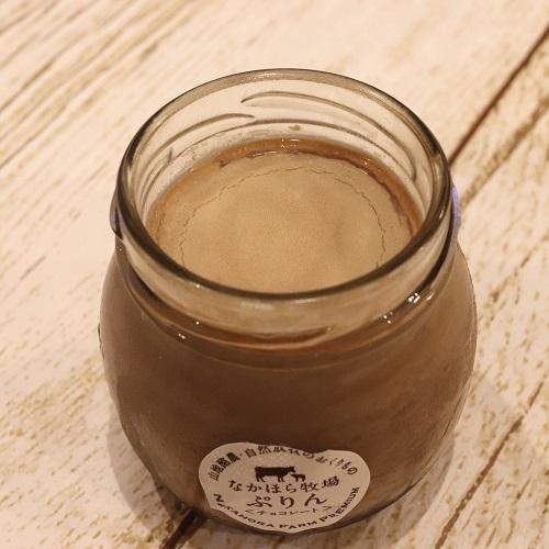 チョコレートプリン01