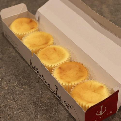 半熟チーズケーキ箱