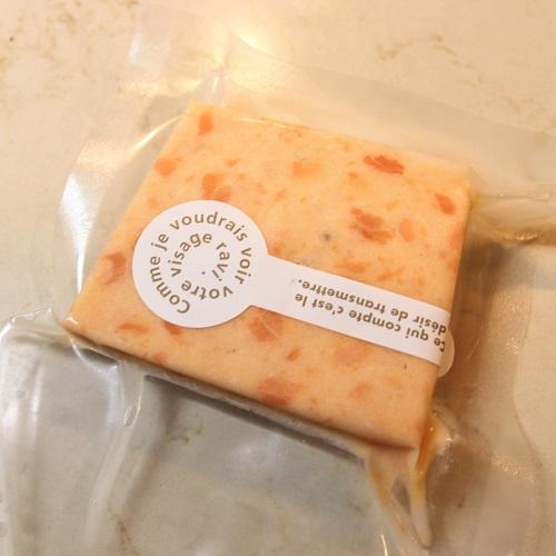 サーモンとクリームチーズのテリーヌの袋