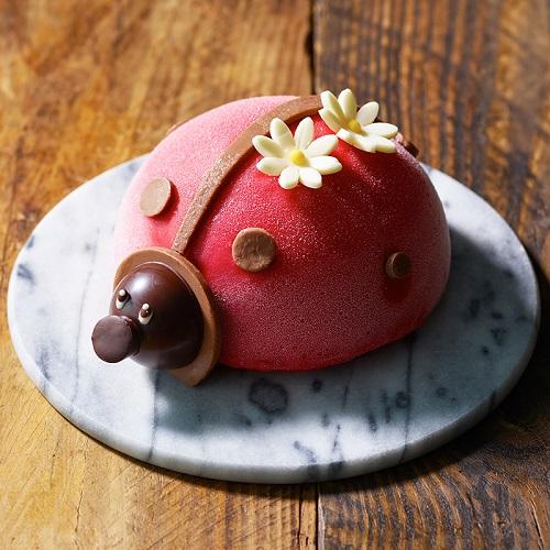 てんとうむしケーキ