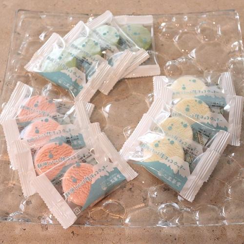 とろける生チョコクッキーの袋