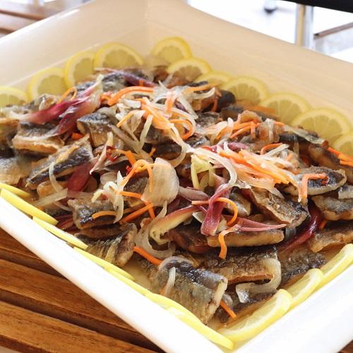秋刀魚のエスカベッシュ